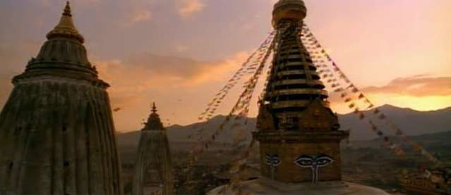 Swayambunath Hill, Katmandu, Nepal