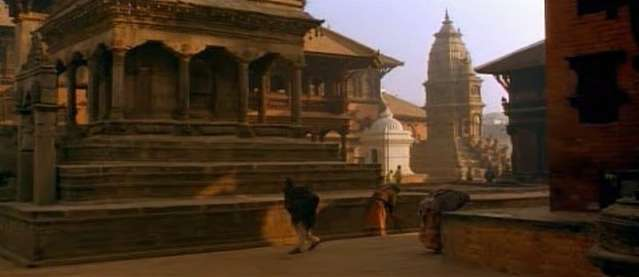 Bhaktapur backside of Durbar Square