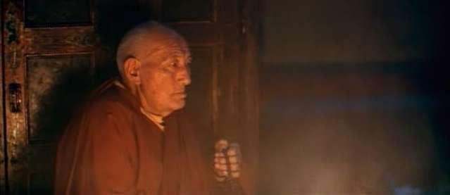 Buddist Monk, Swayambu, Nepal