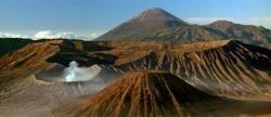 Bromo caldera Java