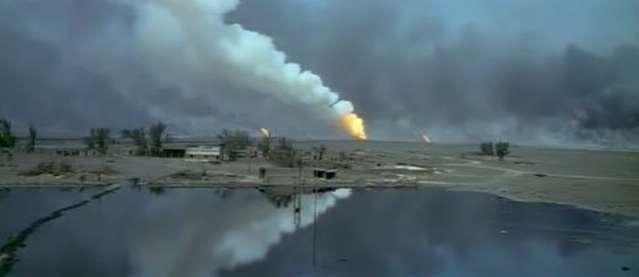 Kuwaiti, Iraq: oil fire