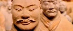 Chinese Terracotta warriors from a tomb in China