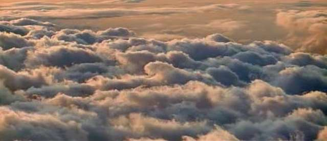 the clouds you can watch on from a plane