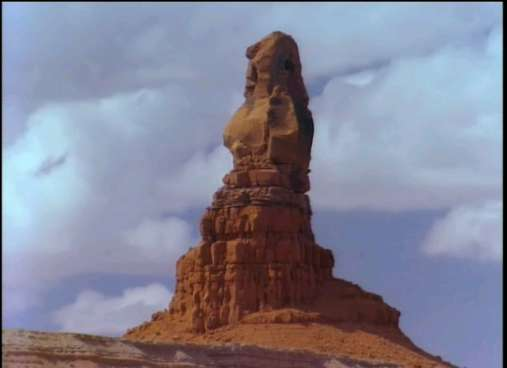 The Indian's Chair in Monument Valley