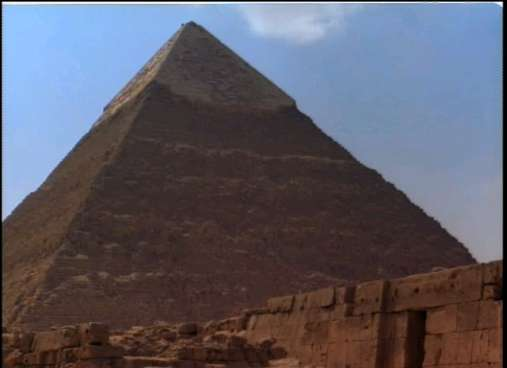The Pyramid of Chephren at Giza