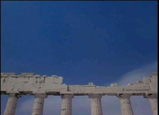 Pathenon Athens - Side view