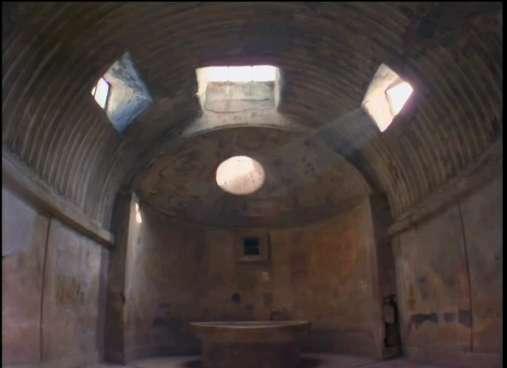 The Forum Baths in Pompeii