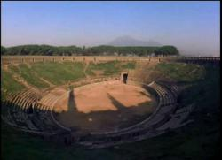 Pompeii Amphitheater - Pink Floyd played here