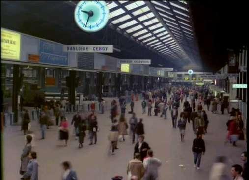 Gare St Lazare, Paris