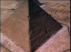 A pyramid, Egypt