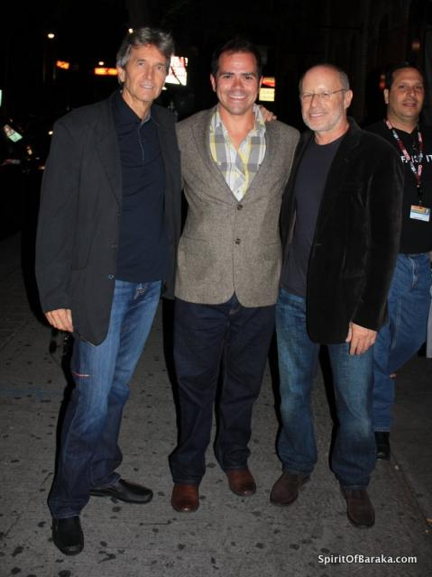 Darren Lambert with Ron Fricke and Mark Magidson at Samsara Premiere, Toronto, 2011