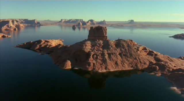 100% NOT Crater Lake (most likely Lake Powell).