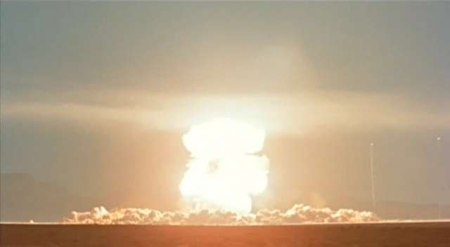 Fission bomb, Nevada Test Site