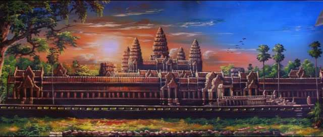 I believe this is Angkor Wat
