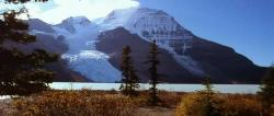 Mount Robson (3954m) and Berg Lake, Canadian Rocky Mountains.