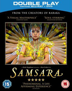Samsara Blu-ray and DVD