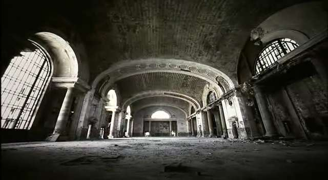 This is also the old Michigan Central Station in Detroit.