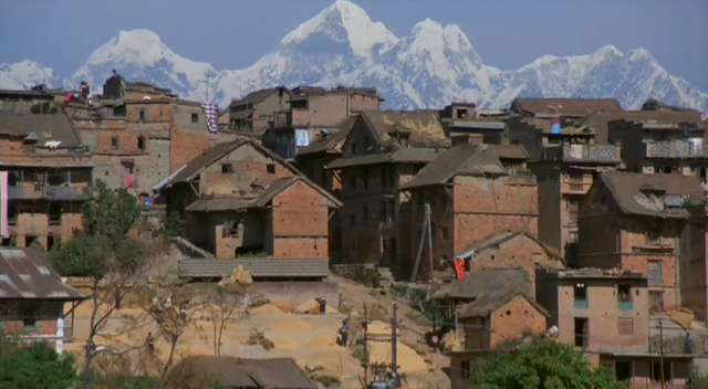 bhaktapur, nepal (descriped as walking route 2 in the lonley planet - but/and ??? is a realy good walk)