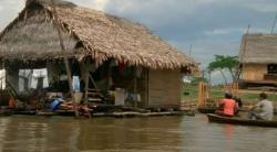 cambodja (from siem riep to battambang by boat)