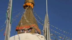 This is Swayambhu in Nepal/