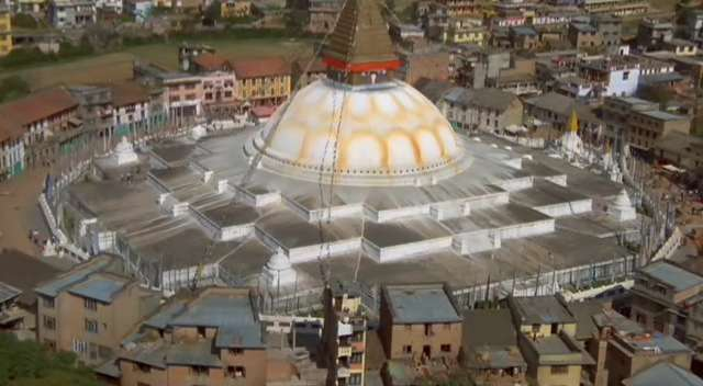 The biggest stupa of Nepal, Bodnath, Nepal